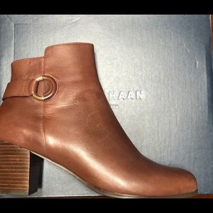 COLE HAAN CHOCOLATE BAILEY BOOTIE